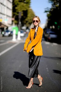 Pernille Teisbaek Paris Street Style, PFW SS15